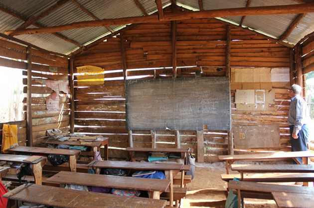 Inside of classroom to be Replaced