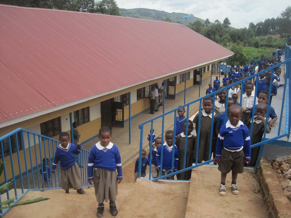 The Finished Classroom Block