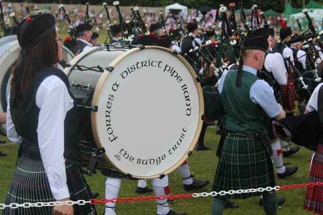 Forres Pipe Band Enjoy More Success